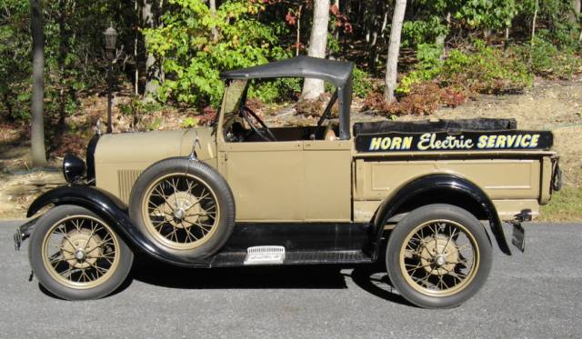 Horn's 1928 Model A Ford Roadster Pick Up